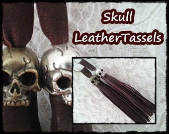 Leathertassel * key chain bag