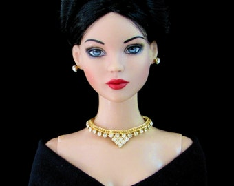 "Doll Jewelry, Rhinestone jewelry for Tonner Tyler, Sybarite and other 16"" fashion dolls by SohoDolls"