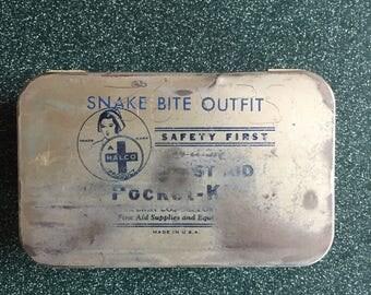 Vintage Snake Bite Kit