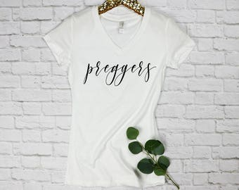 Preggers Shirt, Pregnancy Shirt, Funny Pregnancy, Mom To Be, Mothers Day, Baby Shower Gift, Pregnancy Announcement, Baby Bump, Mama Bear