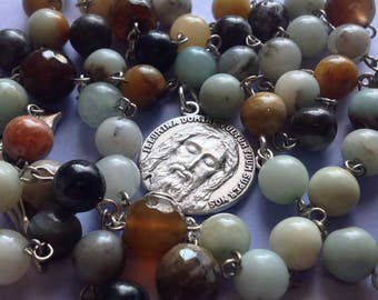 Holy Face of Christ Gemstone Rosary