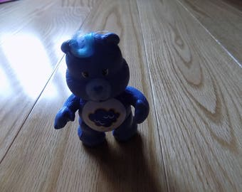 "Carebear GRUMPY 3"" PVC Vintage Carebears Action Figure Doll Toy Toys Dolls"