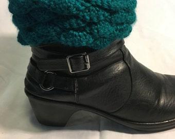 Ruffled boot Cuffs