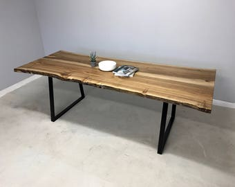 Live Edge Walnut Dining / Boardroom Table
