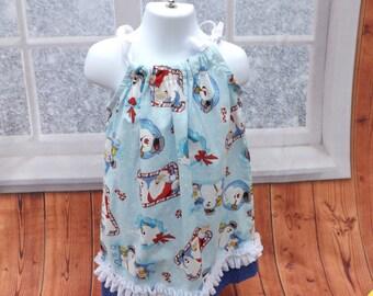 Frosty Christmas dress