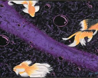 Swimming in Purple - Print
