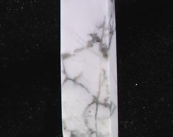Howlite pendant necklace
