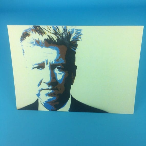 David Lynch Greeting Cards with envelopes : Quote Inside