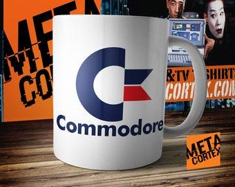 Commodore C64 128 Vic 20 Amiga Retro Games Mug