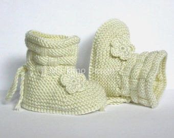 Baby Shoes Boots booties nature