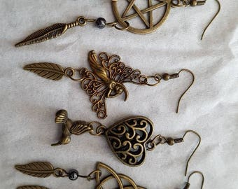 Beautiful and unique earrings.  Choose your favorites.