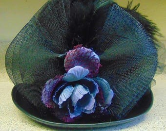 Black Victorian Top Hat Prom Party Costume