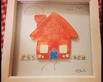 Home Sweet Home - Ceramic Art - made to order