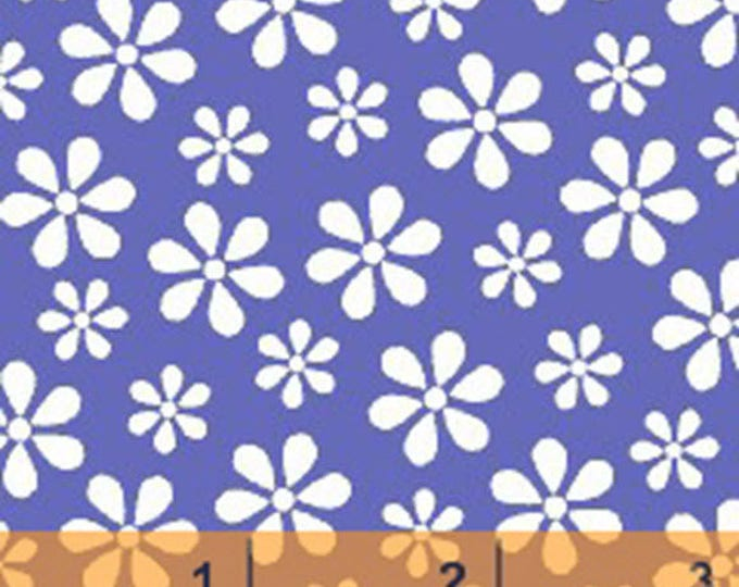 WINDHAM BASICS - BRIGHTS - Daisy in Purple - Cotton Quilt Fabric - Basic Daisies Floral - by Windham Fabrics - 29399-9 (W3794)