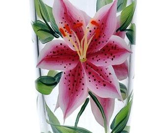 Stargazer Lilies Tumbler