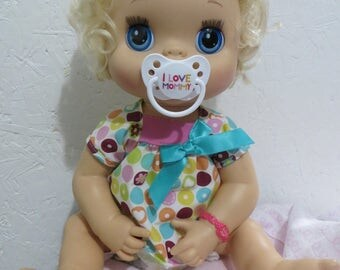 Baby Alive Pacifier for MY BABY ALIVE 2010 Interactive Doll - I Love Mommy - Please read description