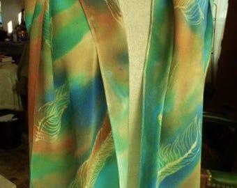 Silk Scarf Hand Painted Silk Scarf