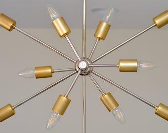 handcrafted modern chandelier brass and polished nickel lighting handmade chandelier lighting custom chandelier