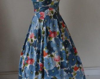 50's Jean Allen Dress. Summer Meadow.
