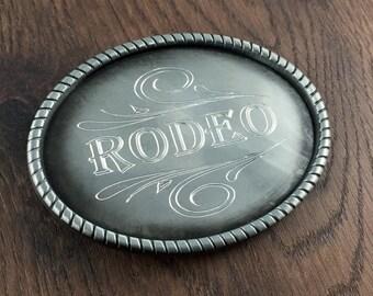 Engraved Belt Buckle, Personalized Antique Pewter Rope Design Belt Buckle, Men's Belt Accessories, Custom Belt Buckle Engraved for Free