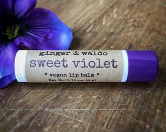 Sweet Violet Lip Balm – Violet – Lip Balm -  Vegan Lip Balm