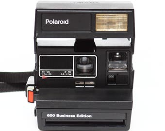 Polaroid 600 Business Edition Instant Film Camera Made in UK Fully Operational