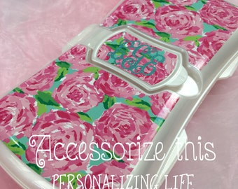 Lily Pulitzer Baby WIPE CASE (Inspired) - diaper bag wipe case - wipes case- baby wipe case - Accessorize everything Baby!