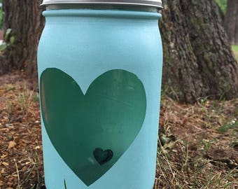 I Carry Your Heart | Miscarriage, Pregnancy Loss, Stillbirth, Child loss, Death, Jar, Memorial Candle
