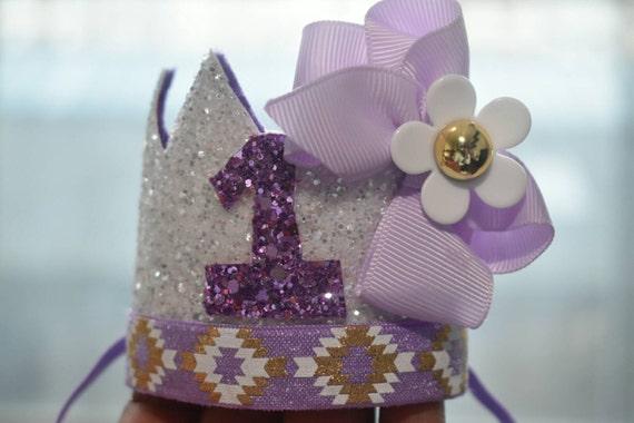 1st birthday crown, custom birthday hat, birthday photo prop, baby birthday outfit, Princess crown