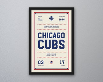 "Chicago Cubs ""Day & Night"" Print"