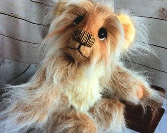 OOAK Bear, Artist Bear, Teddy Bear, Tulip Bear, Collectable Teddy, Bear Gifts, Hand Made Teddy Bear, Stuffed Animal, Stuffed Bear, Baby Gift