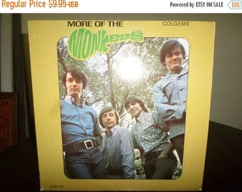 Save 30% Today Vintage 1966 LP Record More of the Monkees Very Good Condition Mono Version 7164