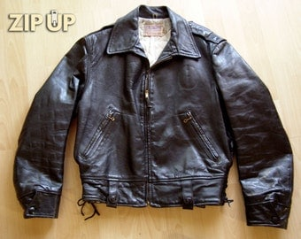 Vintage 40's Californian motorcycle patrol jacket