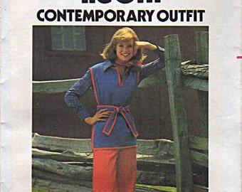 Butterick Pattern 5108 Misses Tunic and Pants UNCUT Size: 10
