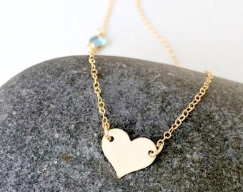 personalized choker 14k gold filled heart choker initial necklace sideways swarovski birthstone necklace initial choker birthstone jewelry