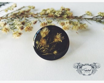 Wildflowers ring, ring with flowers, floral ring, botanical ring, bohemian ring, tiny flowers jewelry, romantic ring, Mother's Day, cute