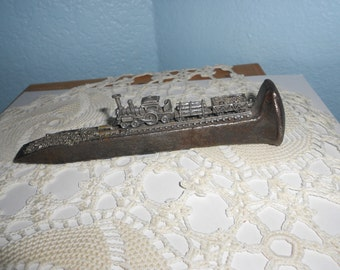 Railroad Spike Figurine or Paperweight