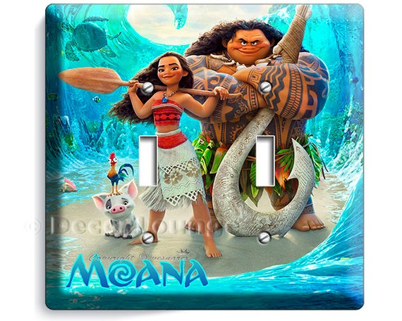Disney Moana 2 Toggle Light Switch Cover