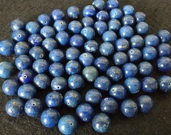 Vintage Lapis Lazuli 12mm Rounds