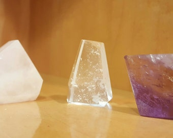 Carved & Polished Crystal Mineral Set FREE SHIPPING IN U.S