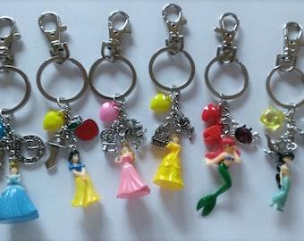 CLEARANCE YOU PICK Princess Backpack Clip/Purse Charm/Keychain