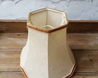 Vintage Lampshade Small Lampshade Cream Lampshade