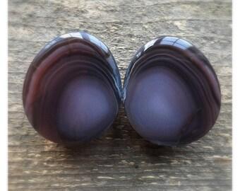 26mm agate tear drops