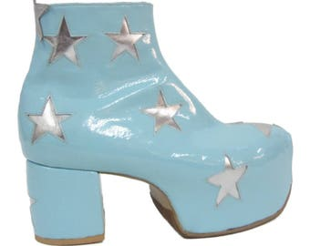Glam Boots - 11 Star, Bowie Glam