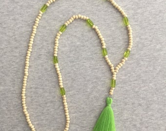 Irina tassel necklace