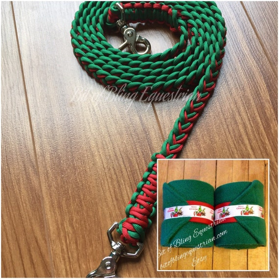 Christmas Grinch Reins and Wraps Set