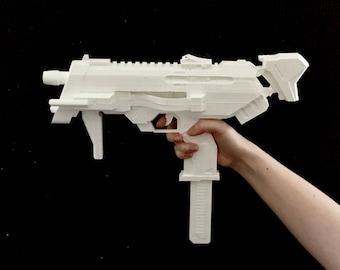 Sombra inspired machine pistol