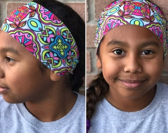 Fitness Headband | Work Out Headband | Yoga Headband | Running Headband | Paisley Headband