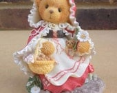 "Cherished Teddies - Little Red Riding Hood Figurine ""To Grandmother's House We Go"""
