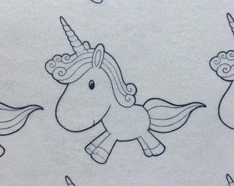 Unicorn Paint-Your-Own Edible Wafer Paper